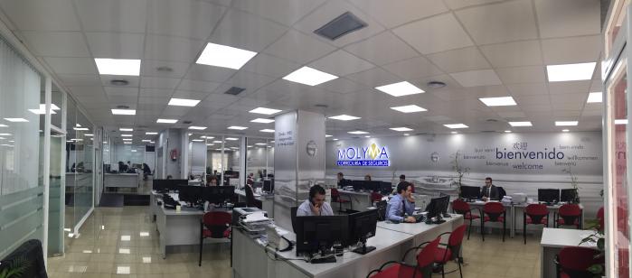 Oficina de Molyma, Correduría de Seguros en la Calle Valdebernardo 22, de Madrid